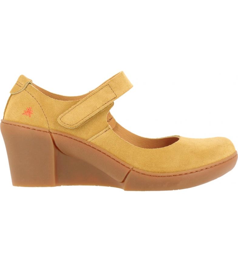 Comprar Art Sapatos de couro Rotterdam 1567 amarelo - Altura da cunha: 6,5 cm