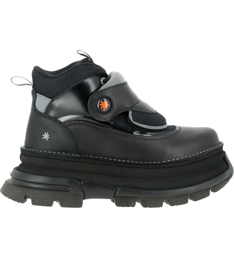Comprar Art Art Core 2 1643 botas de couro preto para tornozelo -Altura da plataforma: 6,5 cm