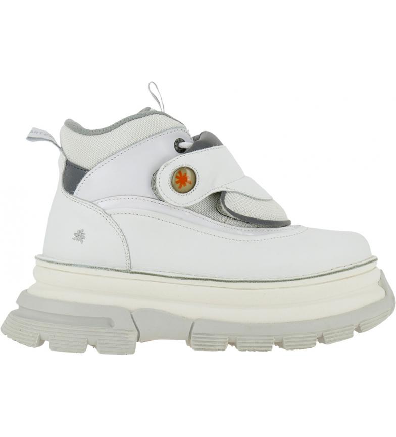 Comprar Art Art Core 2 1643 botas de couro branco para tornozelo -Altura da plataforma: 6,5 cm
