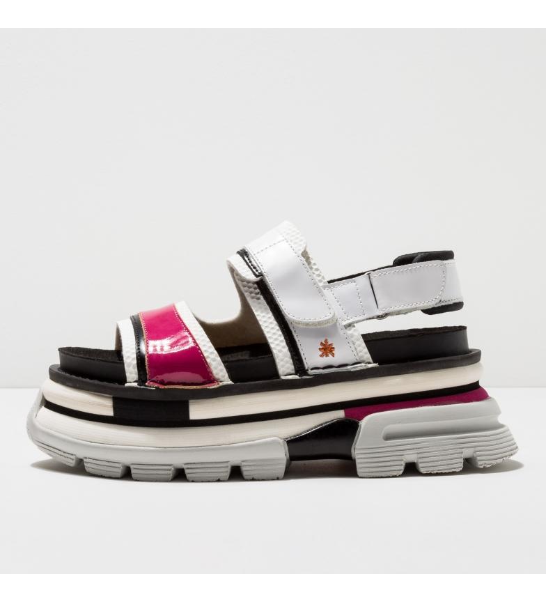 Comprar Art Sandálias de couro 1645 Art Core 2 branco, cor-de-rosa -Altura da Plataforma: 7cm-