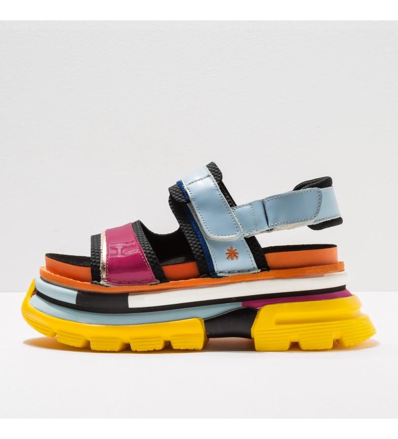 Comprar Art Sandálias de couro 1645s Art Core 2 multicolor -Altura do calcanhar: 7cm- -Altura do calcanhar: 7cm- -Sandalias de piel 1645s Art Core 2 multicolor