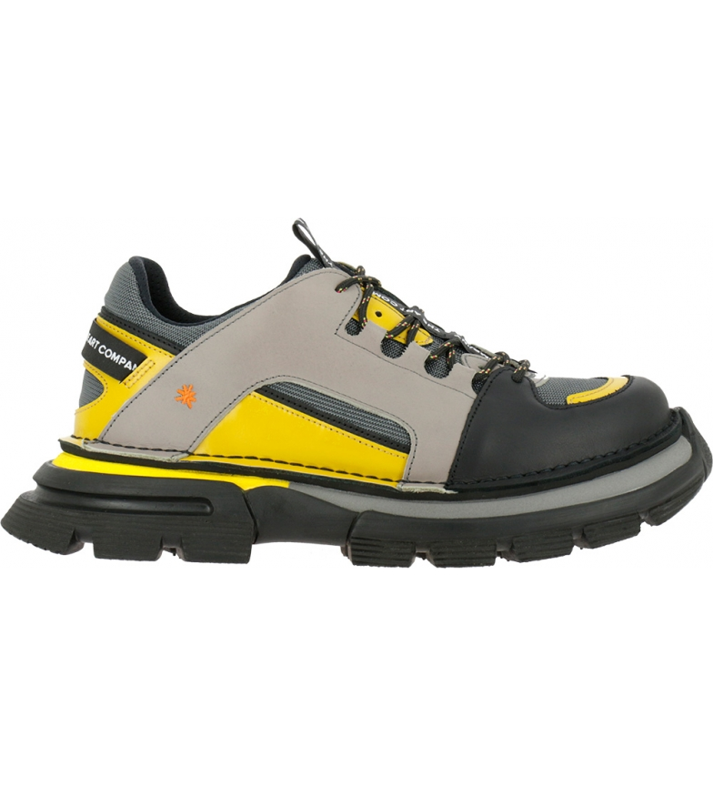 Comprar Art Leather shoes Art Core 1 1650 grey, yellow -Platform height: 4,5 cm