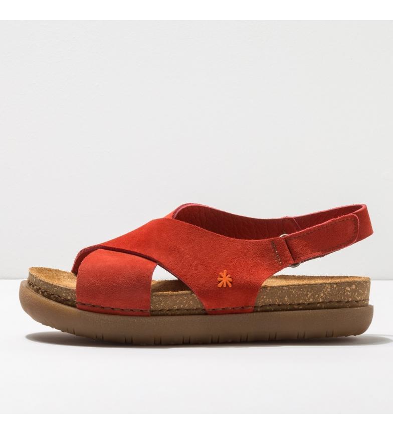 Comprar Art Leather sandals 1710 Rhodes coral