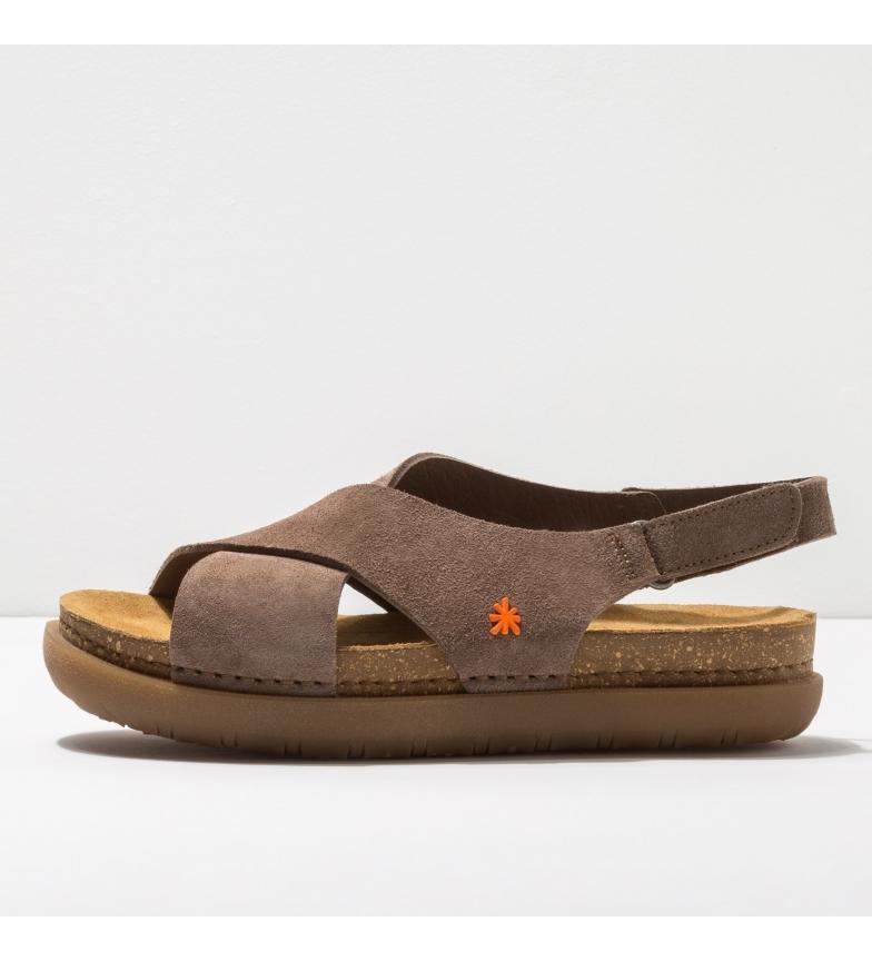 Comprar Art 1710 Rhodes sandali in pelle marrone