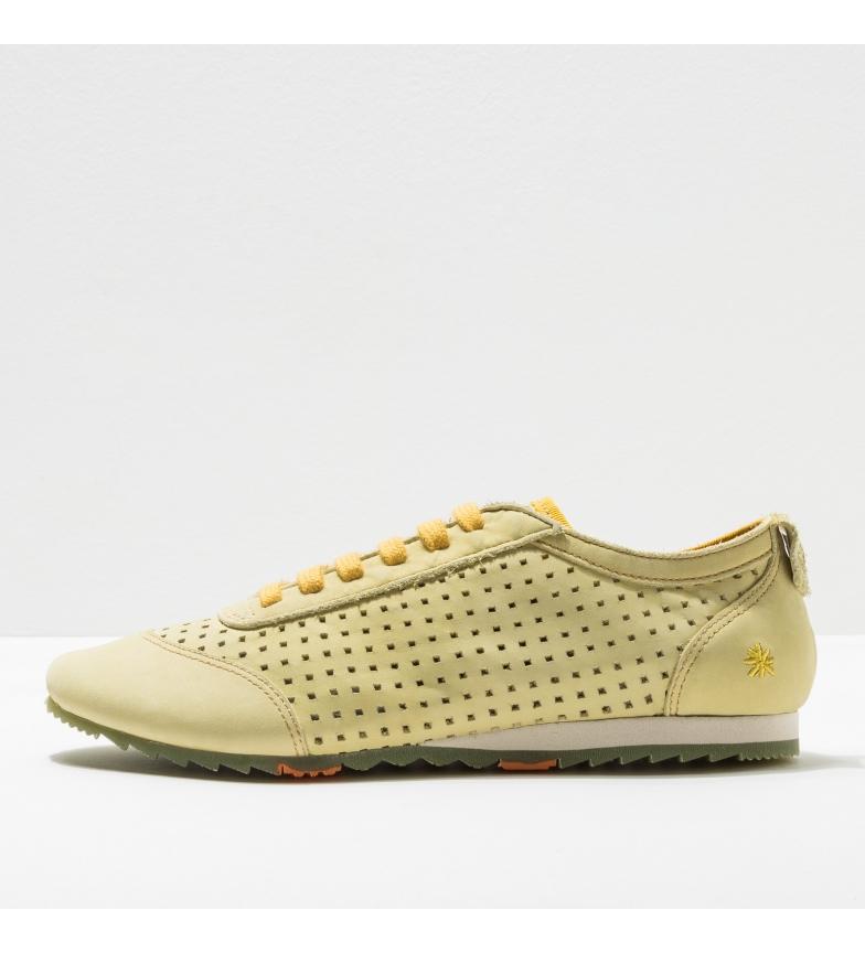 Comprar Art Baskets en cuir 1791 Kioto jaune