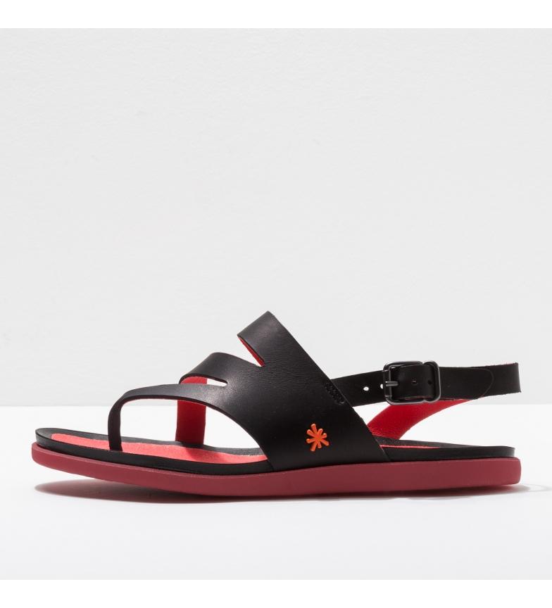 Comprar Art Sandálias de couro 1813 Larissa preto, vermelho
