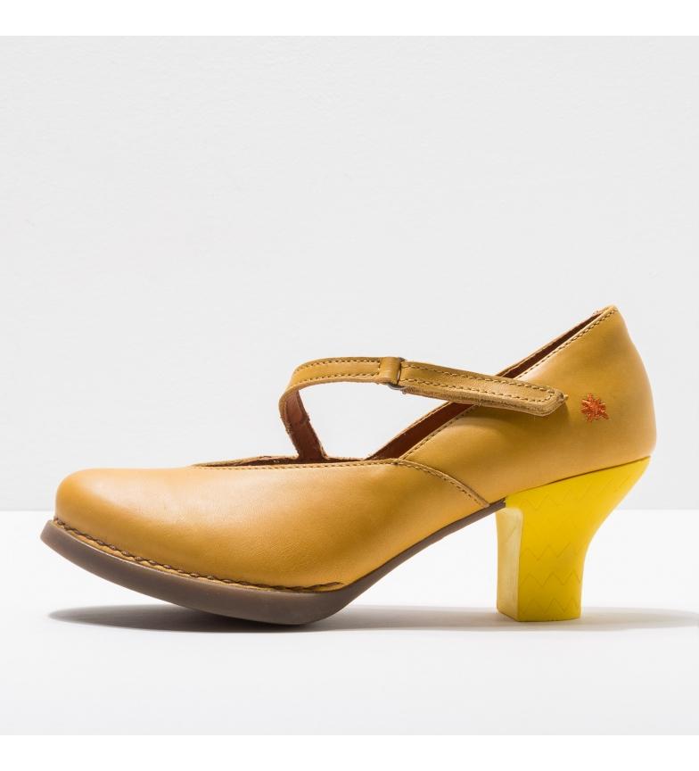 Comprar Art 1830 Sapatos de couro amarelo Harlem -Altura do calcanhar: 6cm- -Sapatos de couro 1830 Harlem amarelo -Altura do calcanhar: 6cm- -Sapatos de couro 1830 Harlem amarelo