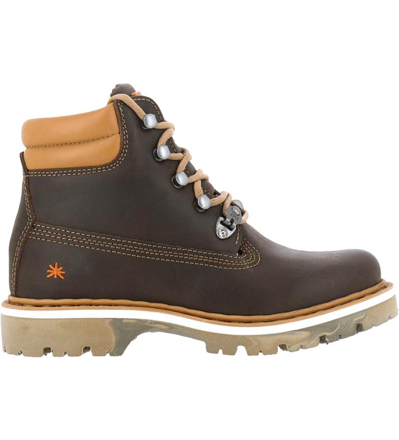 Comprar Art Soma botas de couro para tornozelo 1182 castanho