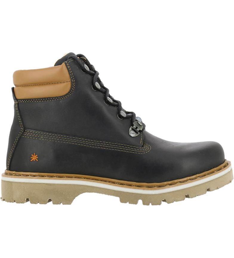 Comprar Art Soma 1182 botas de couro preto para tornozelo