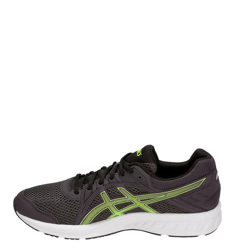 Asics-Zapatillas-de-running-Jolt-2-negro-gris-295g-Hombre-chico-Azul-Rojo miniatura 26