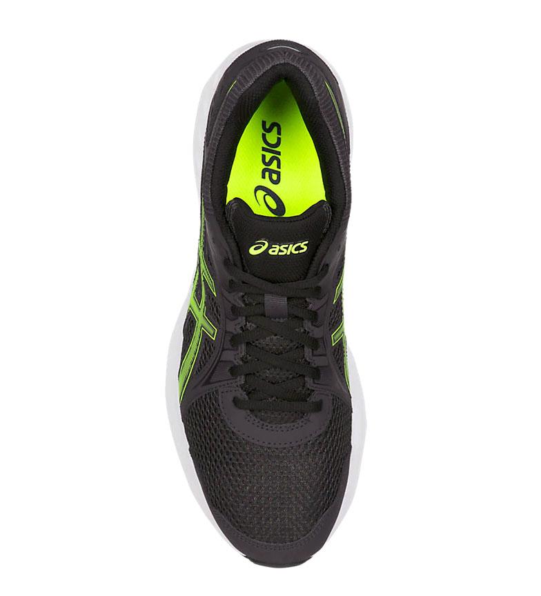 Asics-Zapatillas-de-running-Jolt-2-negro-gris-295g-Hombre-chico-Azul-Rojo miniatura 28