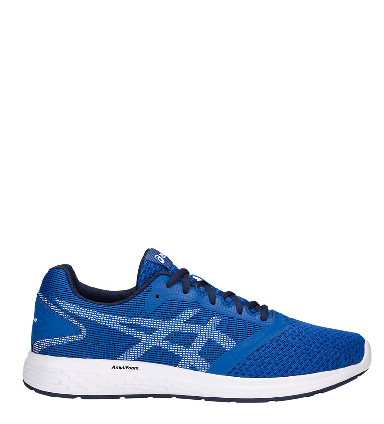 Comprar Asics Patriot 10 blue running shoes, white / 263g