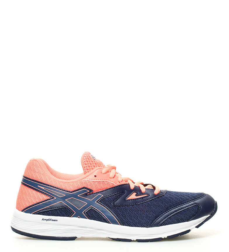 Asics GS AMPLICA scarpe da corsa rosa blu Donna
