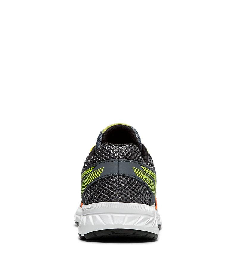 Asics-Chaussures-de-course-Gel-Contend-5-GS-noir-209g-Femme-Gris-Tissu miniature 13