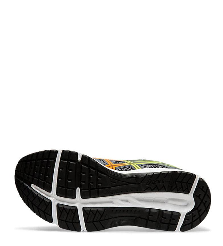 Asics-Chaussures-de-course-Gel-Contend-5-GS-noir-209g-Femme-Gris-Tissu miniature 14