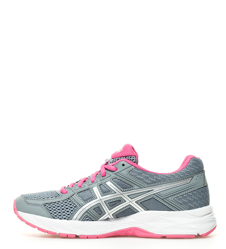 Asics gris Zapatillas Contend Gel running 4 Tw8qXrTg