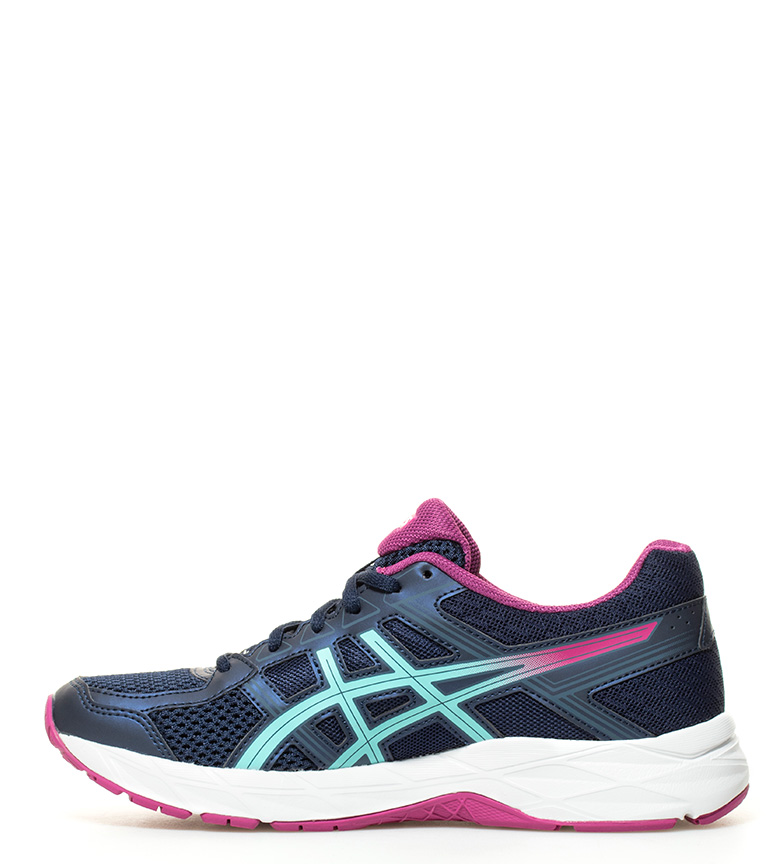 azul Gel Contend 4 Zapatillas running Asics XPwSHOqqx
