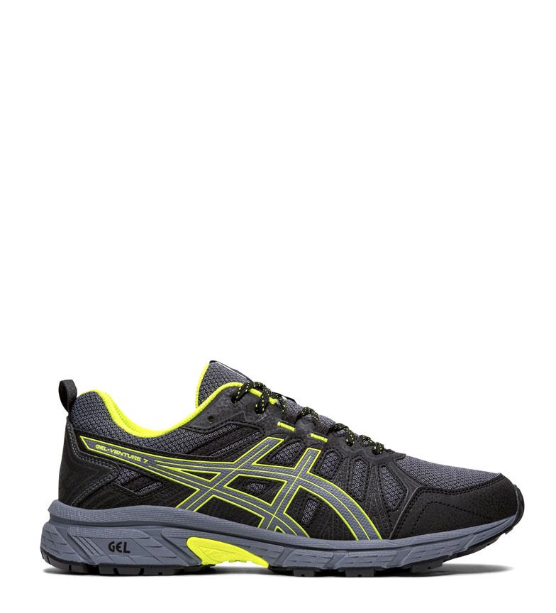 Comprar Asics Gel Venture 7 GS black, fluoride trail running shoes