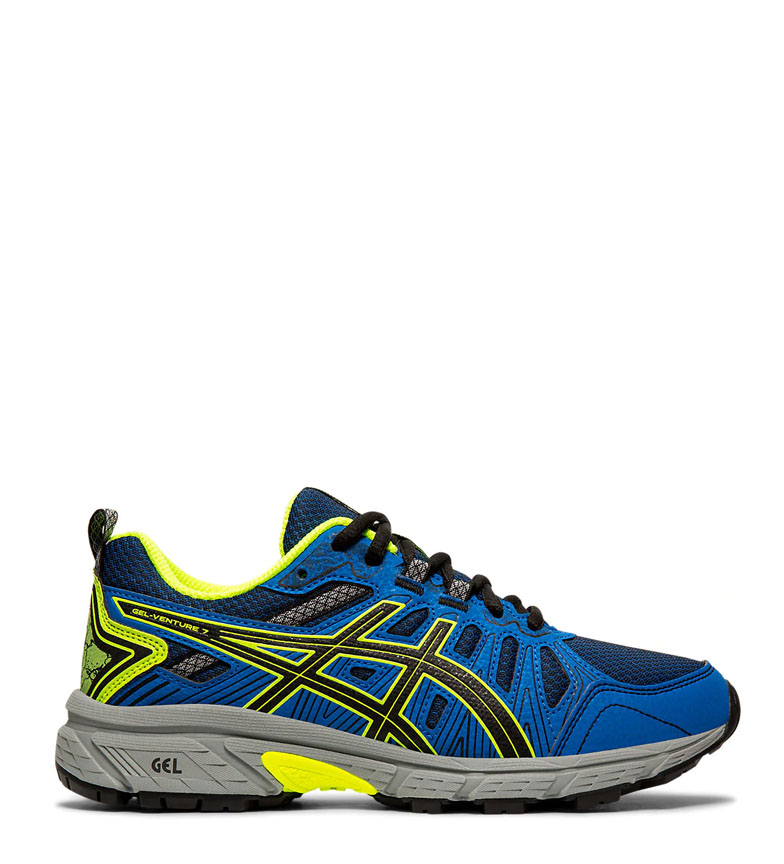 Comprar Asics Scarpe da trail running Gel Venture 7 GS blu, fluor