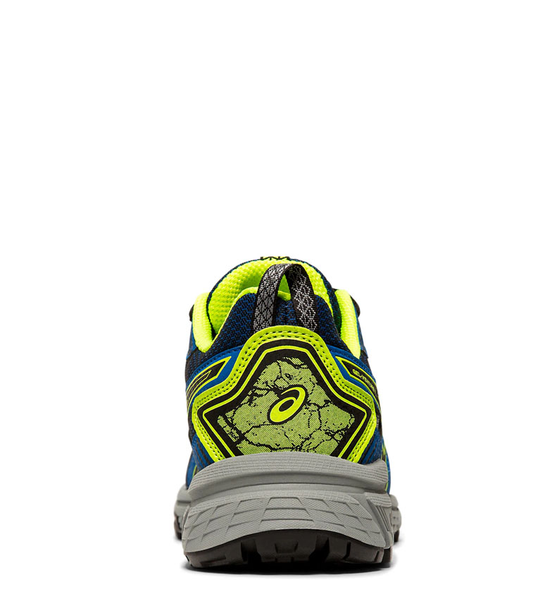Asics-Zapatillas-de-trail-running-Gel-Venture-7-GS-gris-coral-Mujer-chica miniatura 7