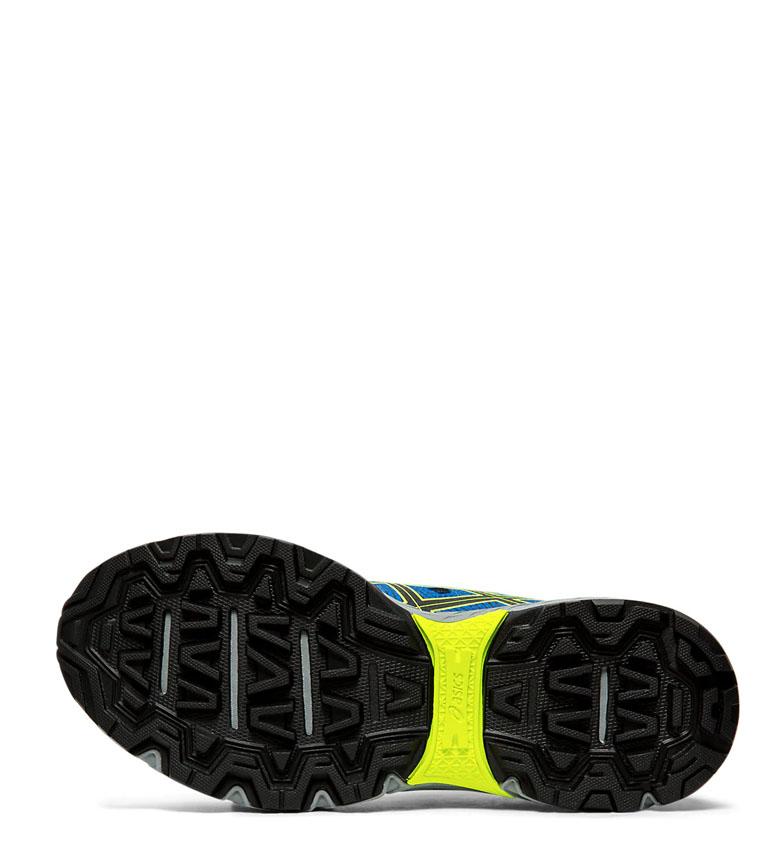 Asics-Zapatillas-de-trail-running-Gel-Venture-7-GS-gris-coral-Mujer-chica miniatura 8