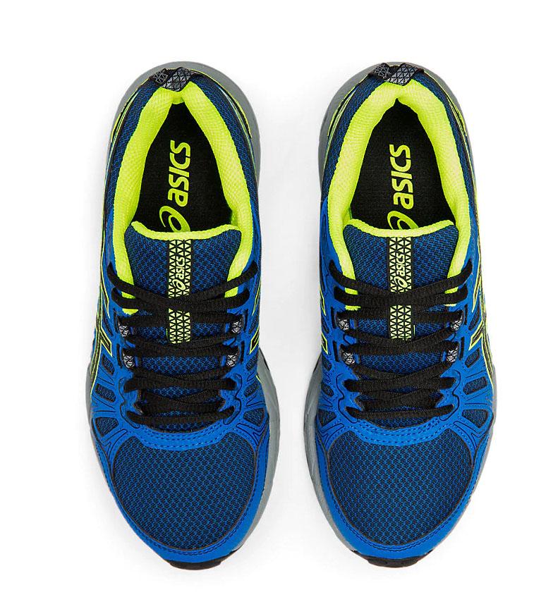 Asics-Zapatillas-de-trail-running-Gel-Venture-7-GS-gris-coral-Mujer-chica miniatura 9