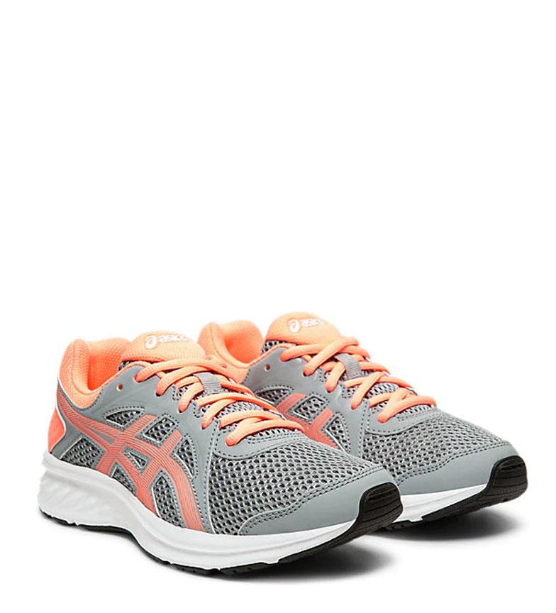 Asics-Zapatillas-de-running-Jolt-2-GS-azul-naranja-295g-Mujer-chica-Tela miniatura 4