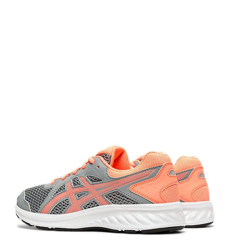 Asics-Zapatillas-de-running-Jolt-2-GS-azul-naranja-295g-Mujer-chica-Tela miniatura 5