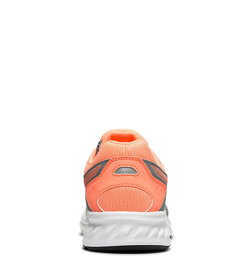 Asics-Zapatillas-de-running-Jolt-2-GS-azul-naranja-295g-Mujer-chica-Tela miniatura 7