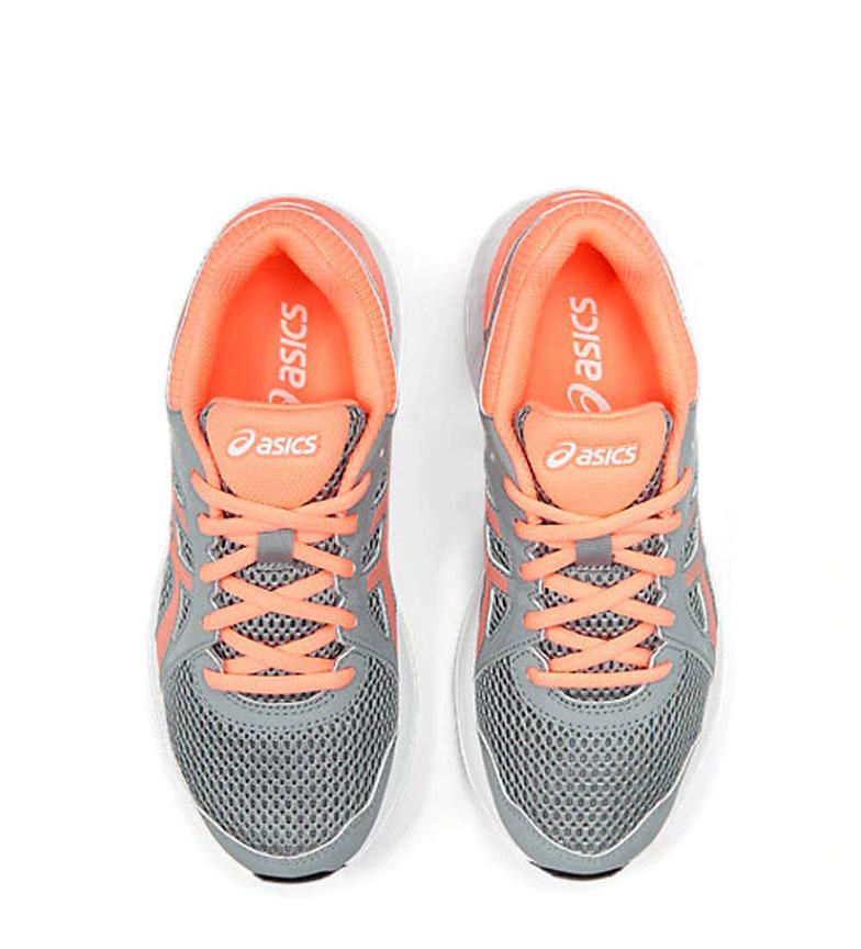 Asics-Zapatillas-de-running-Jolt-2-GS-azul-naranja-295g-Mujer-chica-Tela miniatura 9