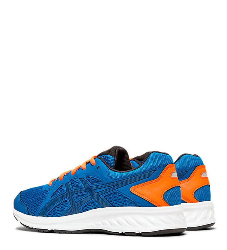 Asics-Zapatillas-de-running-Jolt-2-GS-azul-naranja-295g-Mujer-chica-Tela miniatura 13