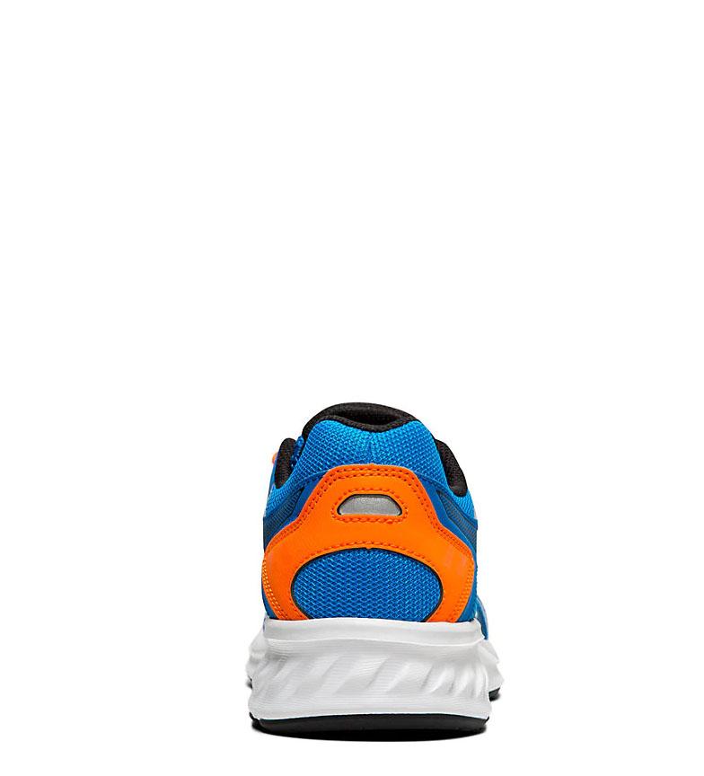 Asics-Zapatillas-de-running-Jolt-2-GS-azul-naranja-295g-Mujer-chica-Tela miniatura 15
