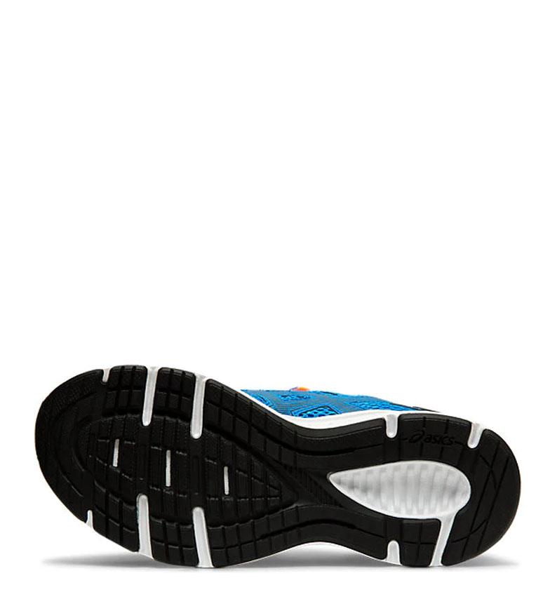 Asics-Zapatillas-de-running-Jolt-2-GS-azul-naranja-295g-Mujer-chica-Tela miniatura 16