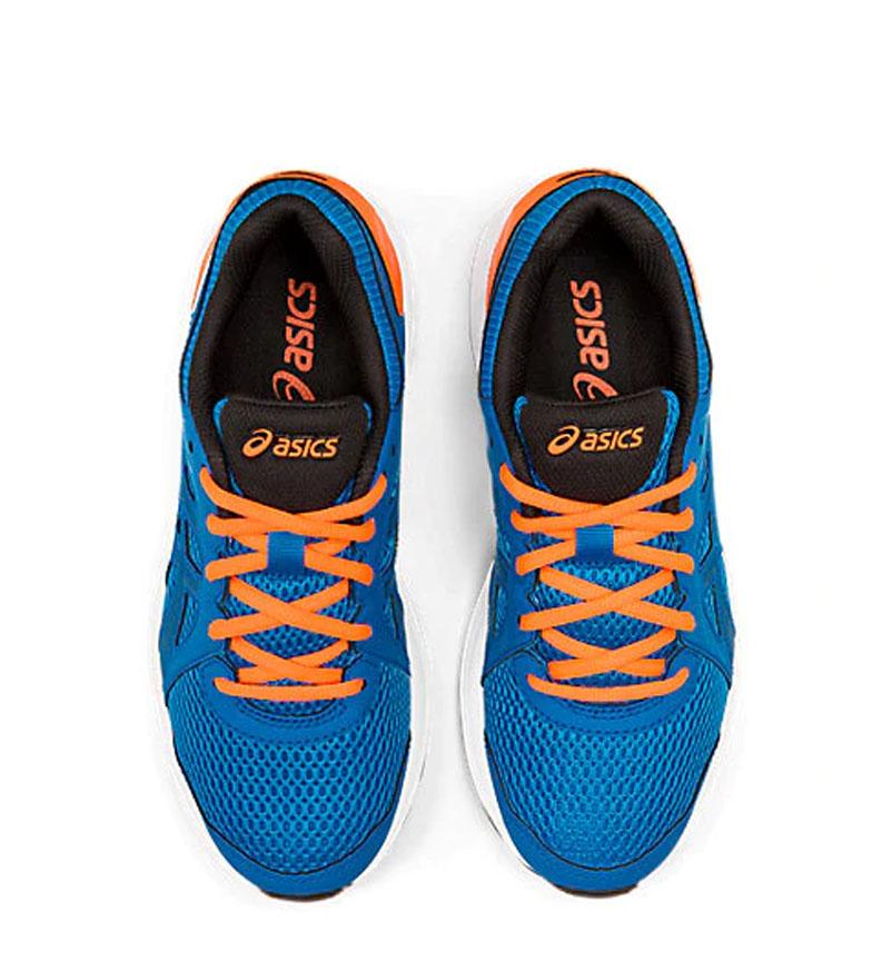 Asics-Zapatillas-de-running-Jolt-2-GS-azul-naranja-295g-Mujer-chica-Tela miniatura 17