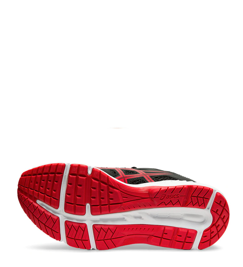 Asics-Chaussures-de-course-Gel-Contend-5-GS-noir-209g-Femme-Gris-Tissu miniature 7
