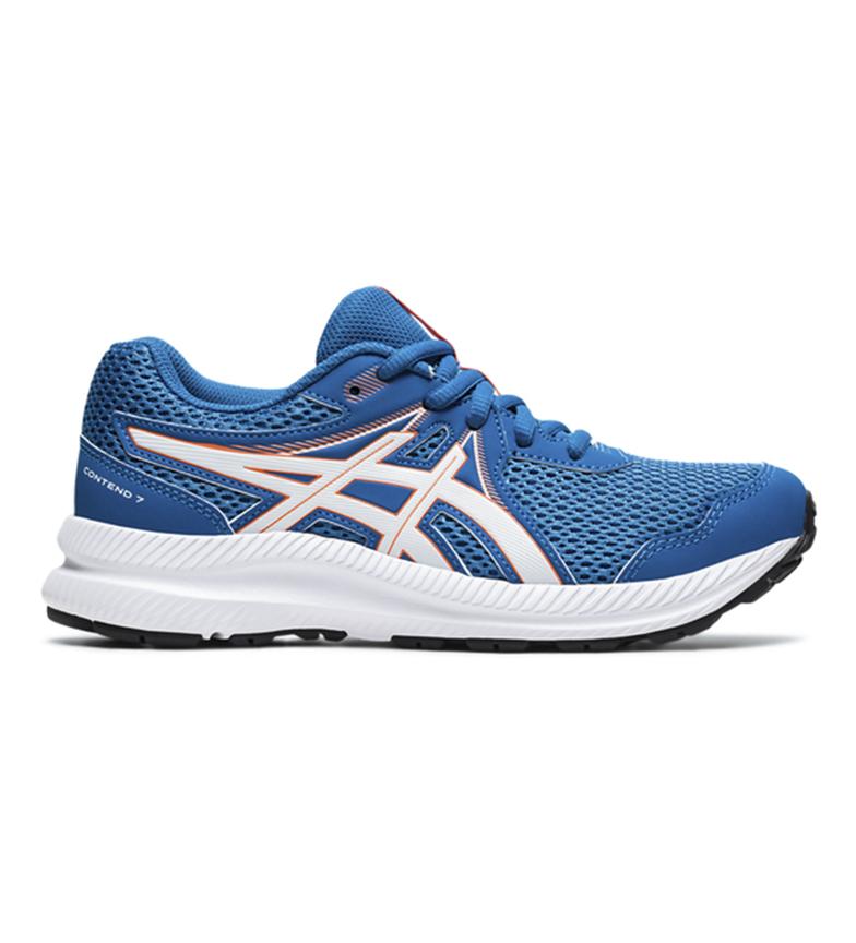 Asics Running Shoes Contend 7 GS blue
