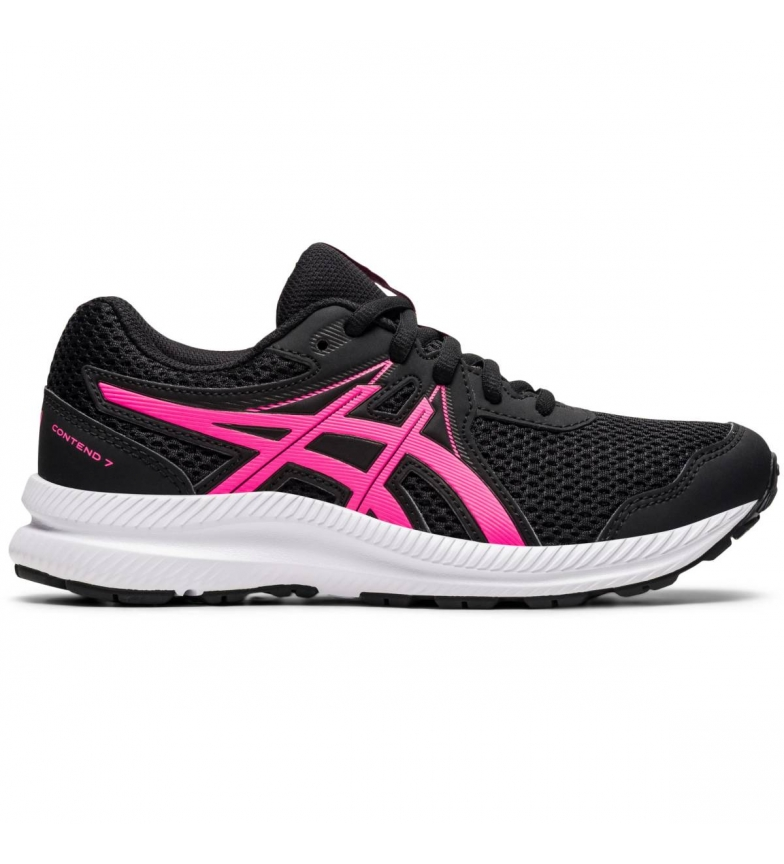 Comprar Asics Zapatillas Running Contend 7 GS negro, rosa