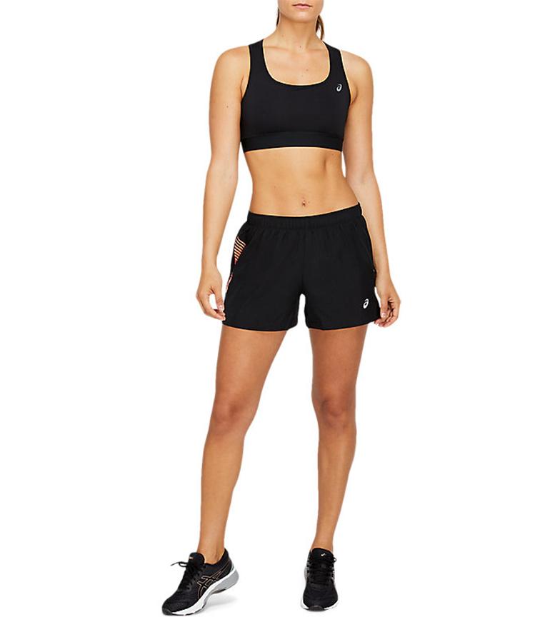 Asics Shorts Icon 4in negro