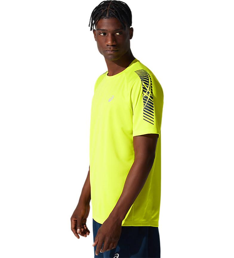 Comprar Asics Icon Short Sleeve T-Shirt yellow