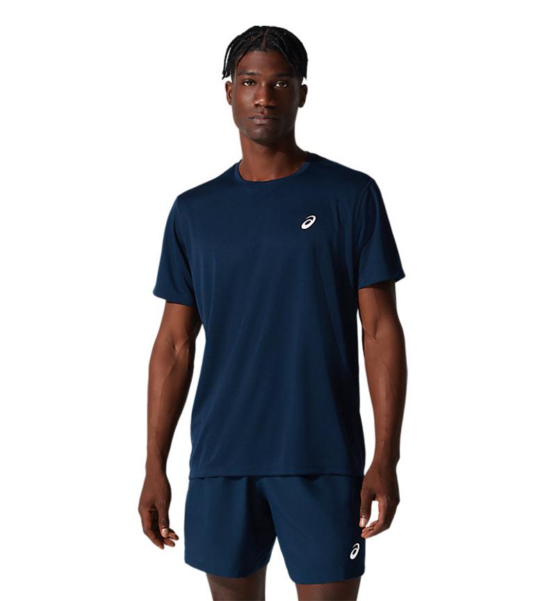 Asics T-shirt Katakana à manches courtes bleu