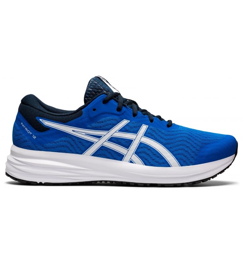 Asics Patriot 12 scarpe blu