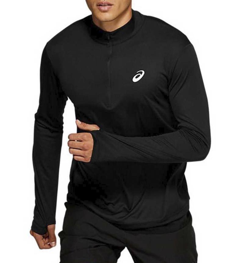 Comprar Asics T-shirt Silver LS 1/2 Zip black