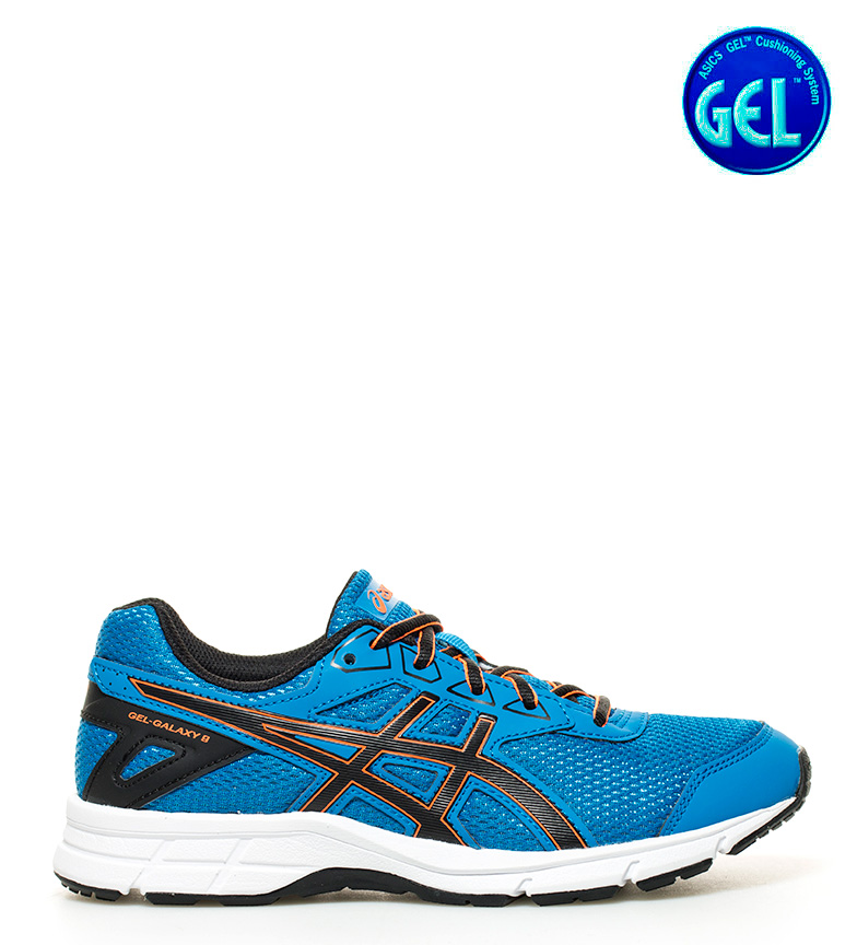 running GS azul Galaxy Asics Gel 9 de Zapatillas negro aP1qWYAT