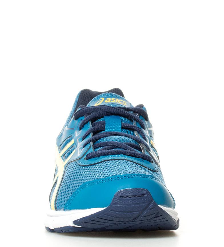 running Gel azul Zapatillas Gs Galaxy marino de amarillo 9 Asics BzEqx4wB