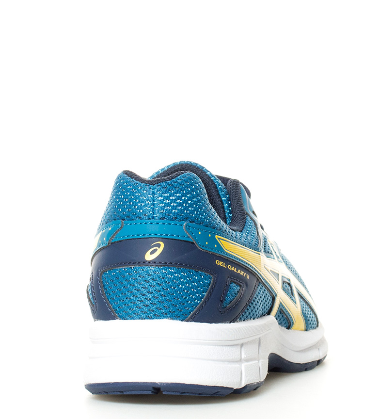 Gs marino de Zapatillas running Galaxy azul Asics 9 Gel amarillo Yqp55w0
