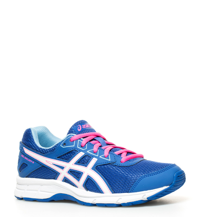 Gs Galaxy 9 running Zapatillas rosa Asics Gel azul de wHqa4O
