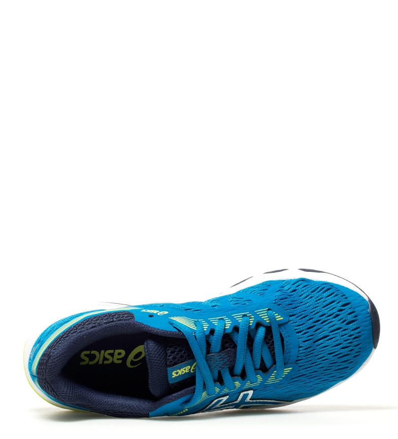 Asics-Sneakers-running-GT-1000-7-Donna-Blu-Tessuto-Sintetico-Basso-Stringhe