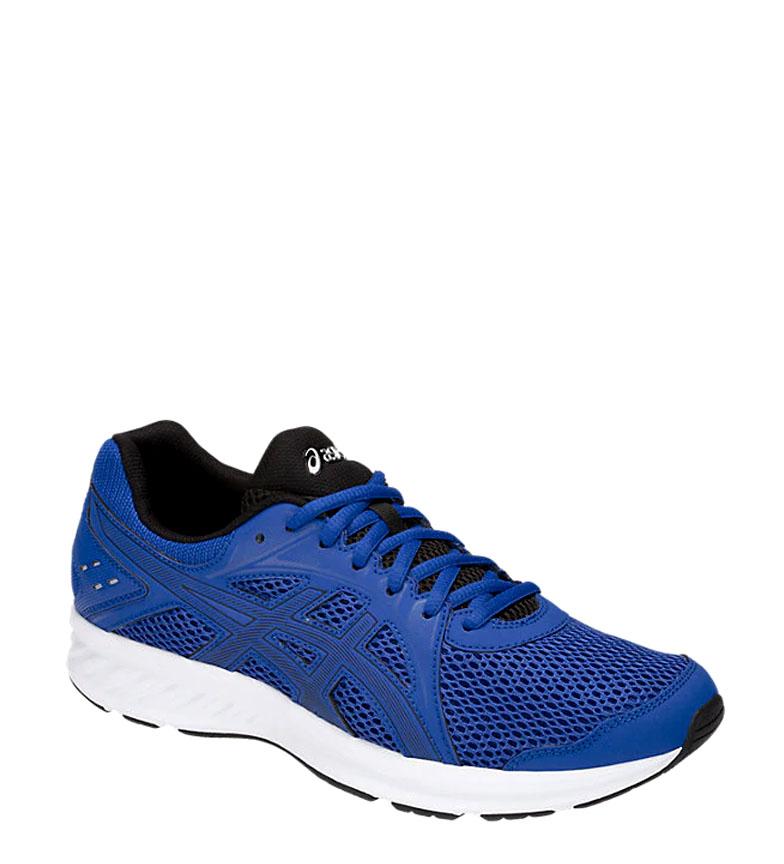 Asics-Zapatillas-de-running-Jolt-2-negro-gris-295g-Hombre-chico-Azul-Rojo miniatura 10
