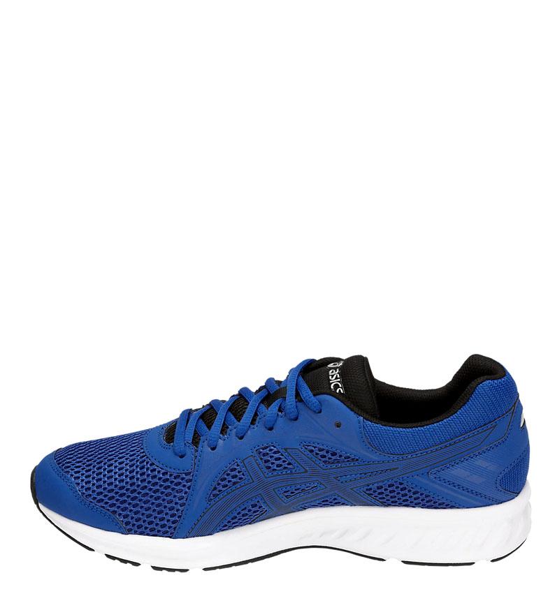 Asics-Zapatillas-de-running-Jolt-2-negro-gris-295g-Hombre-chico-Azul-Rojo miniatura 12
