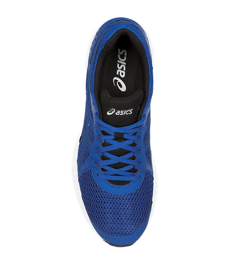 Asics-Zapatillas-de-running-Jolt-2-negro-gris-295g-Hombre-chico-Azul-Rojo miniatura 14